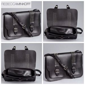 Rebecca Minkoff Handbags - Large Black Leather Alex Crossbody bag