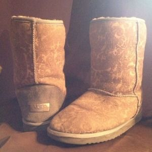 Authentic paisley ugg boots
