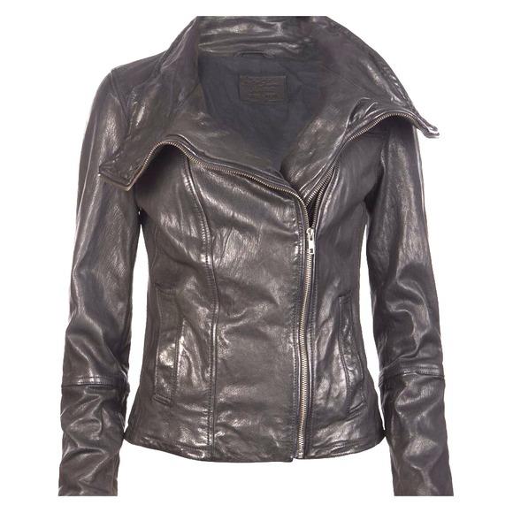 ⬇️REDUCED 👑HP🌟🌟All Saints Heston Leather Jacket