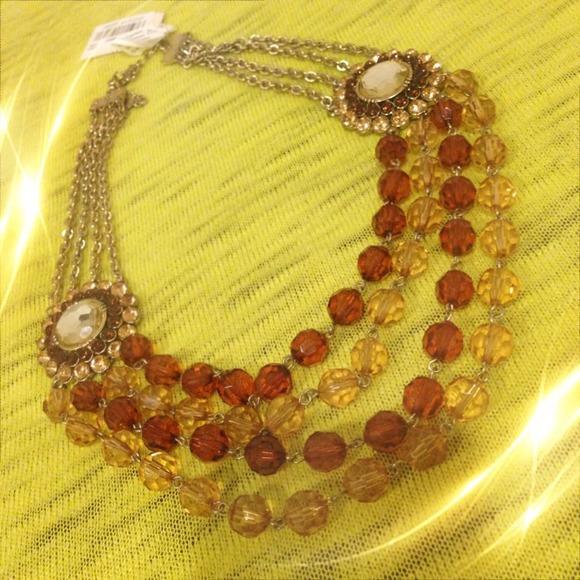 Robert Rose Jewelry Qvc Robert Rose Statement Gold Flower Necklace Poshmark
