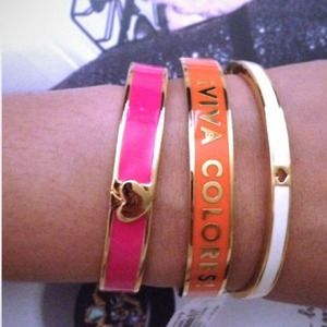 Kate Spade idiom Viva Colores bangle