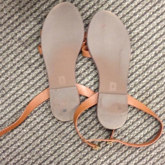 Madewell 📍reserved Madewell Jasper Flat Sandals From