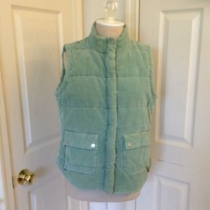 Jackets & Blazers - Quilted Cotton corduroy vest