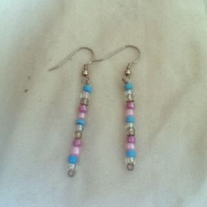 Jewelry - **Custom Made Pastel Colored Earrings