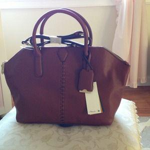 Brown leather Phillip Lim for Target large satchel