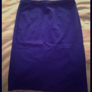 Used, Blue Tinley Road A-line skirt for sale
