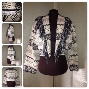 Cute Flashback Tribal Jacket Size M