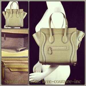... celine bag online sale - 4% off Celine Handbags - CELINE Micro Luggage  Tote Bag ... 613bef6262774