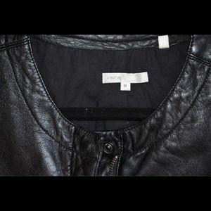 Vince Jackets & Coats - Vince leather bomber