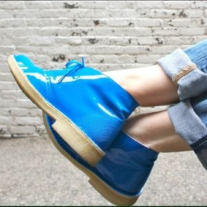Clarks Shoes - HOST PICK! Clark's Desert Boot in Electric Blue