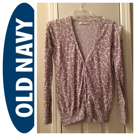 Old Navy - 🚫BUNDLED🚫 Old Navy Animal Print Cardigan from ...
