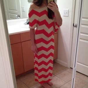 boutique  Dresses & Skirts - Boutique asymmetrical maxi dress