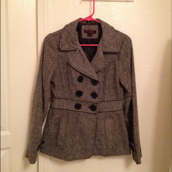 Tilly's Outerwear - Tilly's tweed peacoat