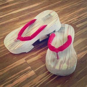 Chinese Wedge Sandal