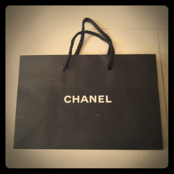 88e0ae1a1ce0 CHANEL Handbags - Authentic CHANEL small paper bag