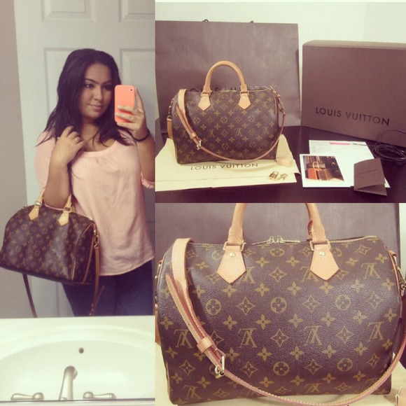 Louis Vuitton Bags My New Baby Speedy Bandouliere 30
