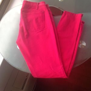 Gently worn sz 28 pink Current Elliott jeans