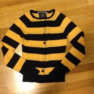L.A.M.B striped wool cardigan