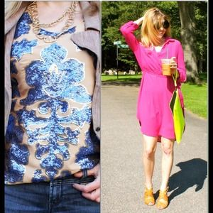 Dresses & Skirts - BUNDLED FOR @erinashley04 pink dress/ sequin top
