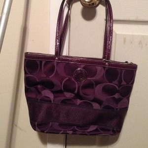 31093bb71ef0 Coach Bags - Purple Coach purse