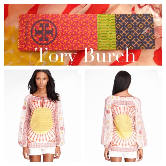 Tory Burch Tops - Tory Burch Lisa Voile Top