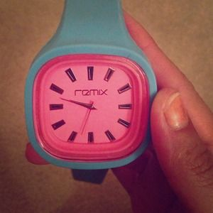 Pink and blue Remix light up watch!