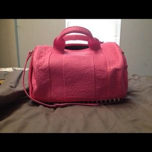 Authentic Alexander Wang bubble gum pink Rocco
