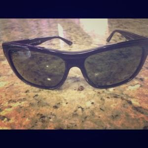Black Versace sunglasses for men