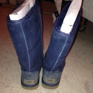 UGG Shoes - Tall Navy blue Uggs