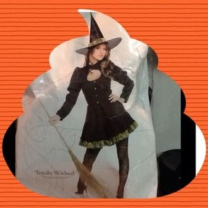 Halloween Very Classic Witch Costume M🌚