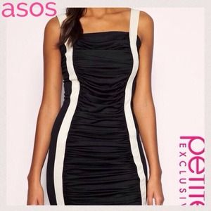 🎉❤️HOST PICK❤️🎉 ASOS PETITE Ruched Mini Dress