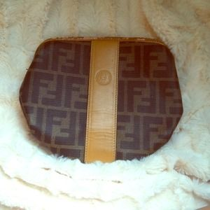 Authentic Fendi Vintage Cosmetic Pouch