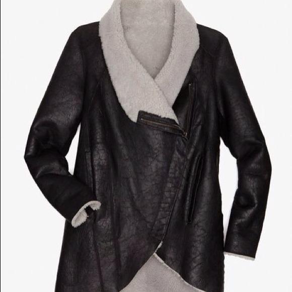 🎉Host Pick Helmut Lang Weathered Shearling Jacket