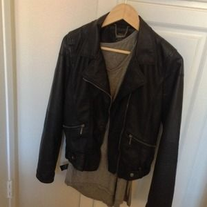 🎈SALE🎈Zara faux leather jacket