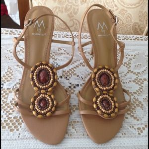 Marinelli Shoes - Beaded Sandals
