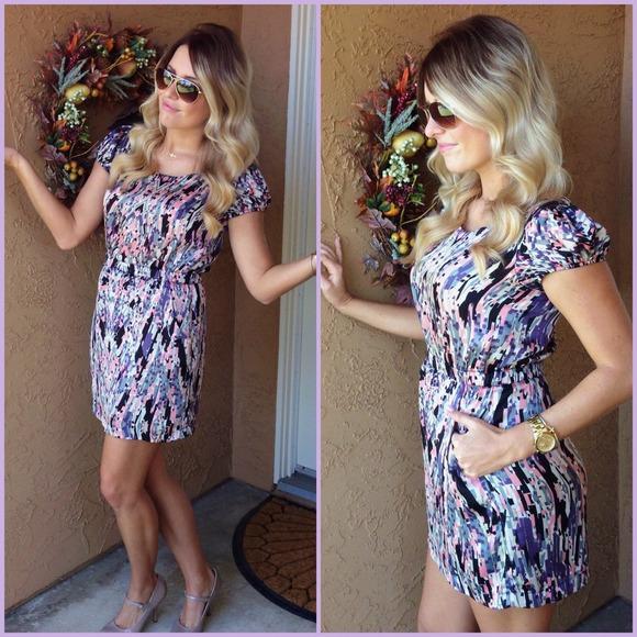 Forever 21 mini feminine dress