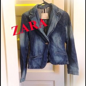 Zara Jackets & Blazers - Zara. Denim Coat
