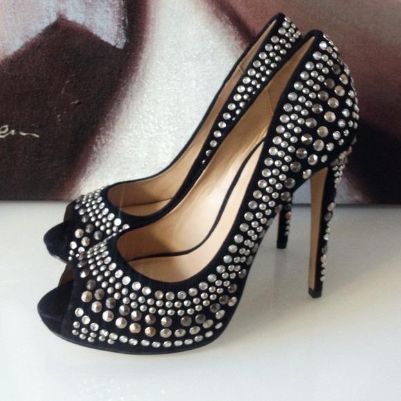 bebe Shoes - 🚫SOLD🚫 Bebe Annette embellished pumps