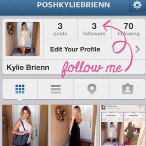 Follow me on Instagram - @PoshKylieBrienn