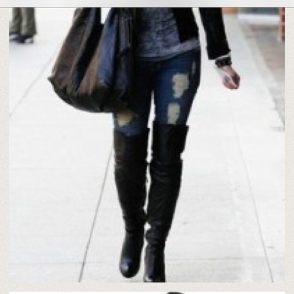35% off Steve Madden Boots - Steve Madden Irinna over the knee ...