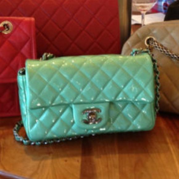 40fae4fac23912 CHANEL Bags | Mint Mini Flap Bag | Poshmark