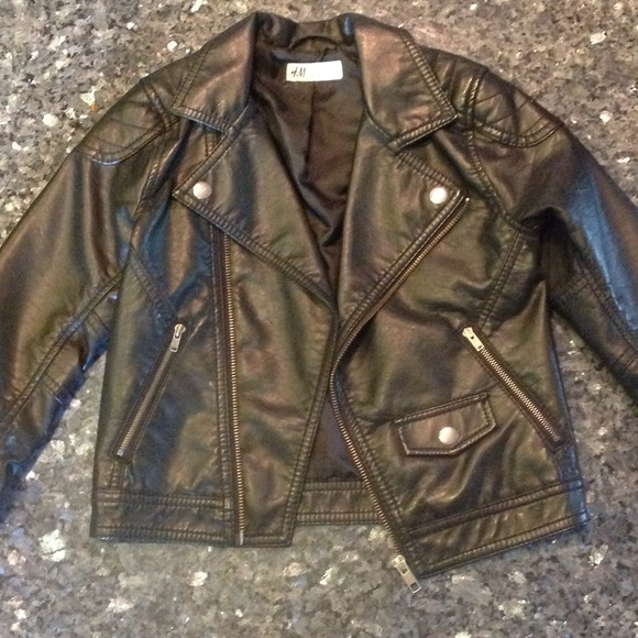 boy leather jackets h&m