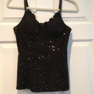 Forever XXi sequin tank, holidays, parties
