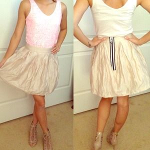 BNWOT!! ASOS skater skirt with tulle