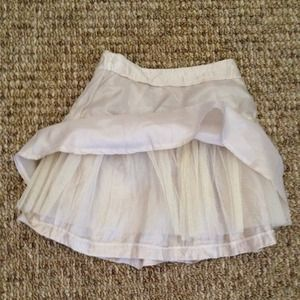 ASOS Skirts - BNWOT!! ASOS skater skirt with tulle