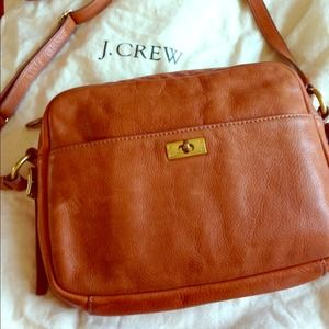"Jcrew camel color ""Wixon Purse"""