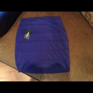 Blue shirt blue skirt