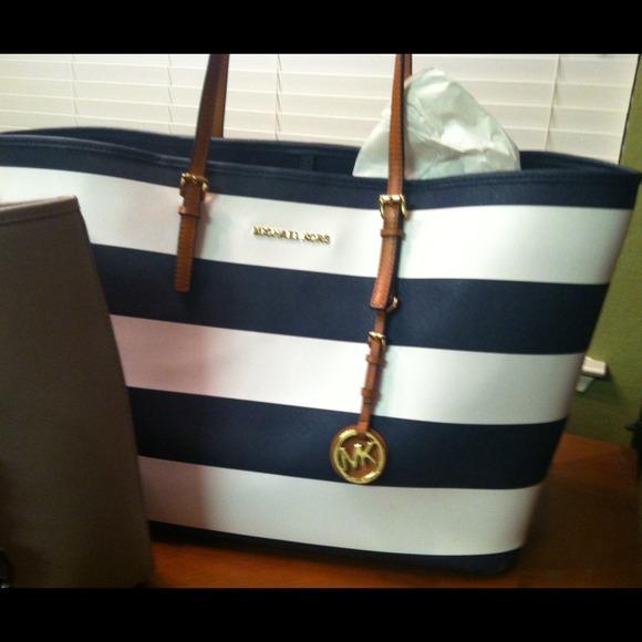 e875f6640330 Michael Kors Bags | Nautical Tote | Poshmark