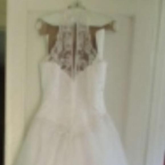83 off david 39 s bridal dresses skirts david 39 s bridal for How to ship a wedding dress usps