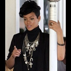 Famous Faith Necklace as seen on Rhianna